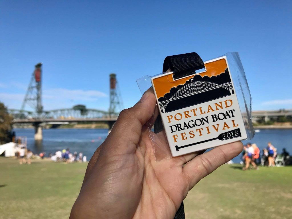 Sunny weekend at the Portland Dragonboat Festival